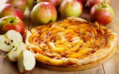 Tarta de Miel LAPUELA y manzana